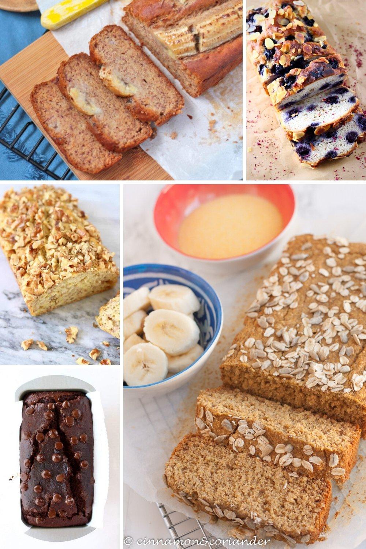 vegan healthy banana bread recipes