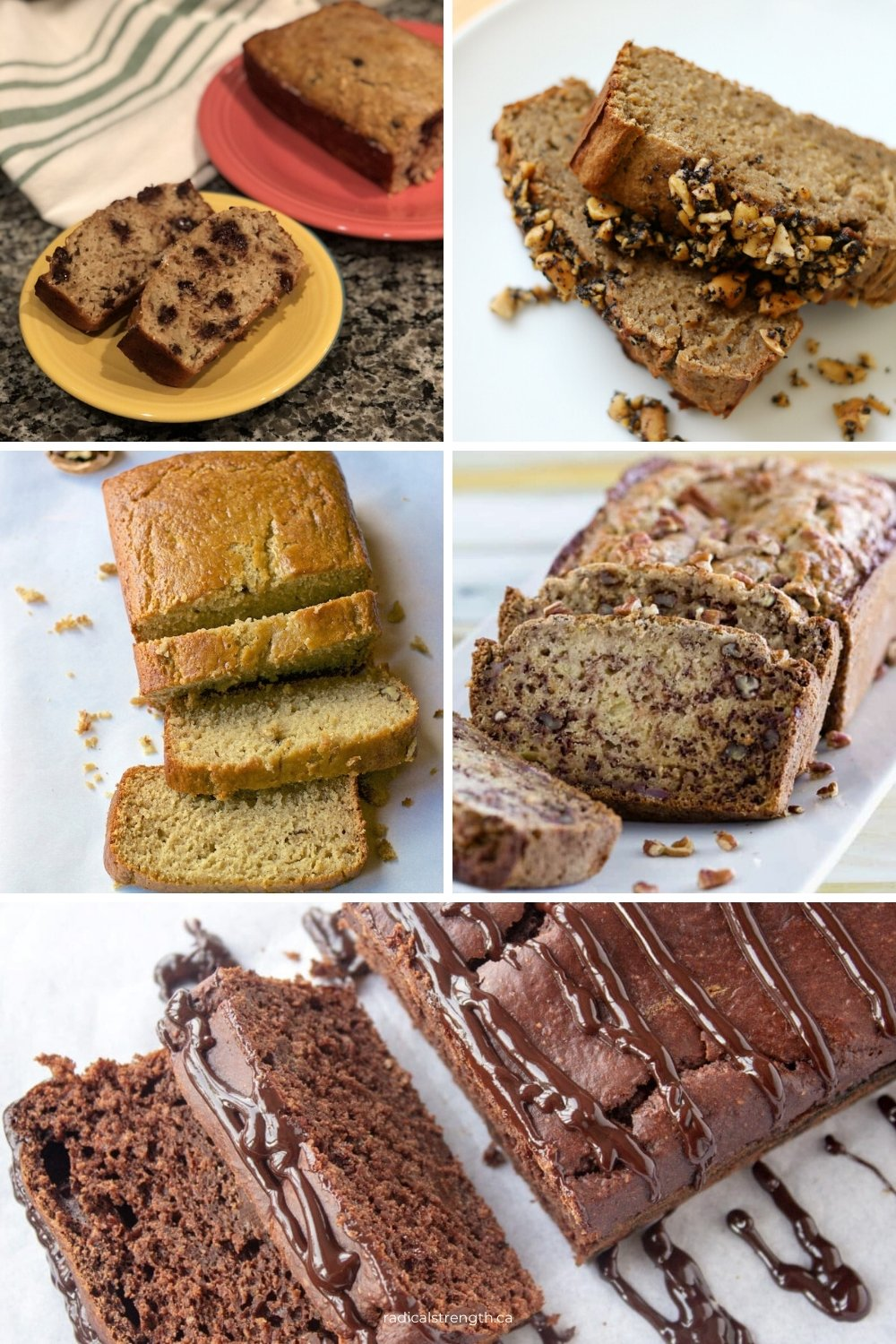 wholesome healthy banana bread