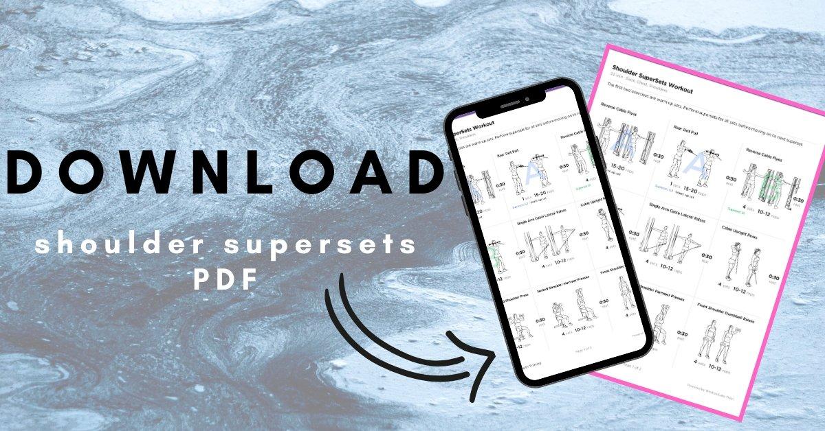 shoulder supersets pdf
