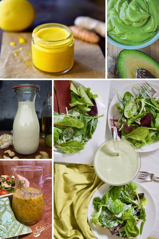 herb healthy homemade salad dressings