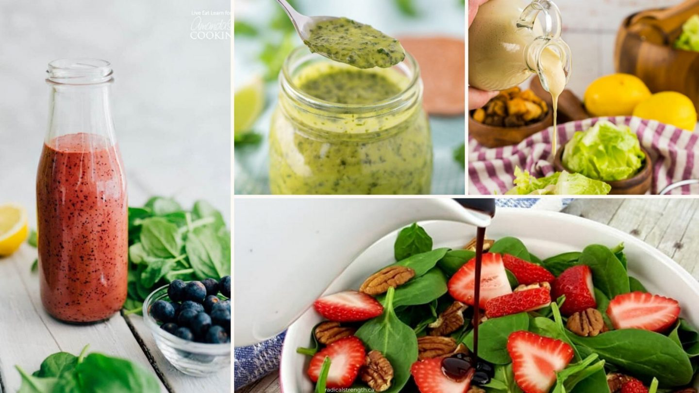 45 Healthy Homemade Salad Dressing Recipes