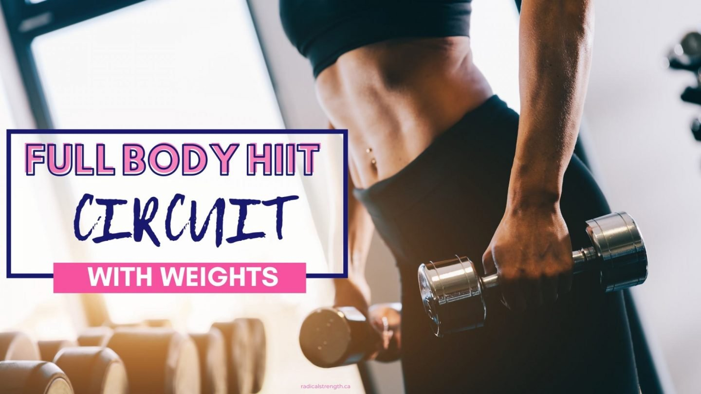 25 Minute Fat Burning Full Body HIIT Circuit (with weights)