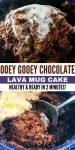 hot chocolate mug cake vegan gluten free