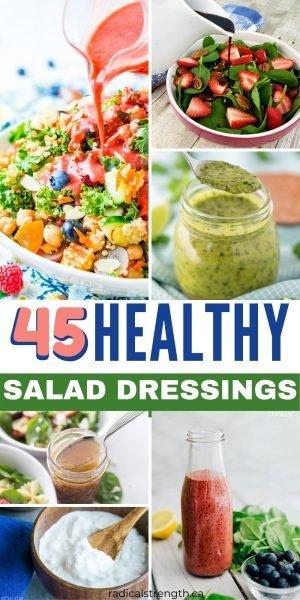 healthy homemade salad dressing recipes