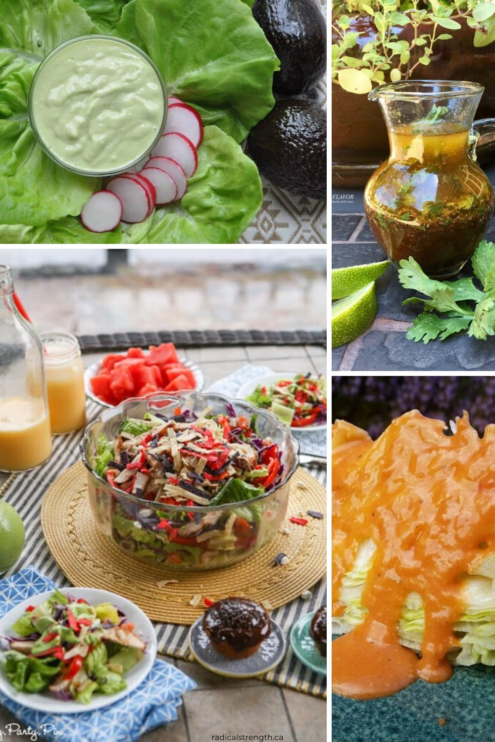 spicy healthy homemade salad dressings