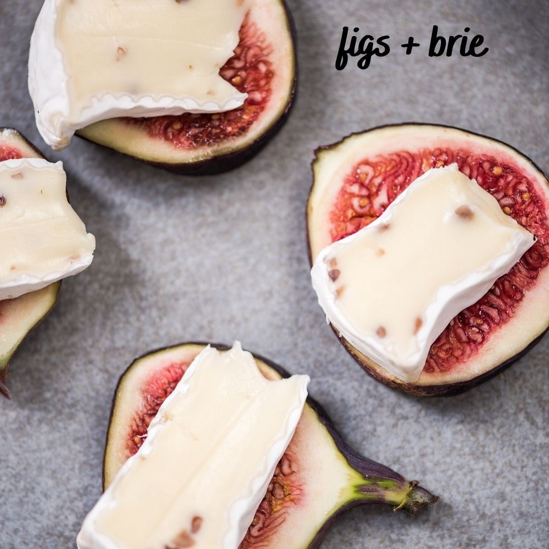 figs and brie snack