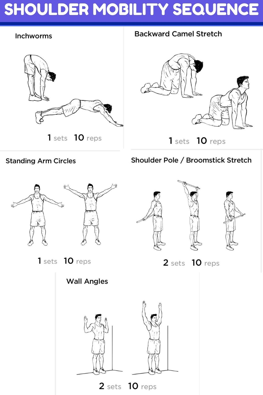 shoulder mobility sequence