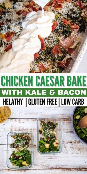chicken caesar bake healthy