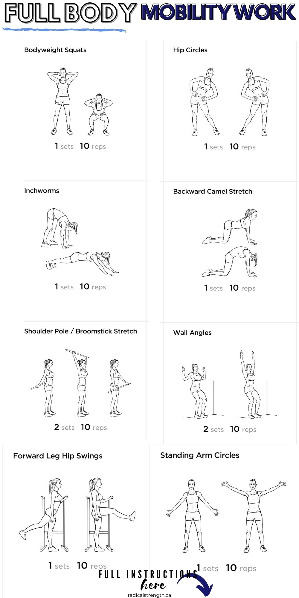 mobility training workout