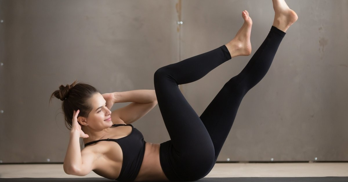 crunch exercise for 30 day hiit challenge