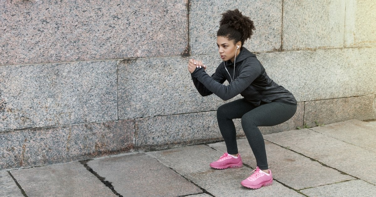 bodyweight squat for 30 day hiit challenge