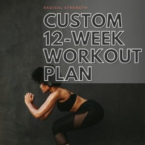 custom 12 week workout plan