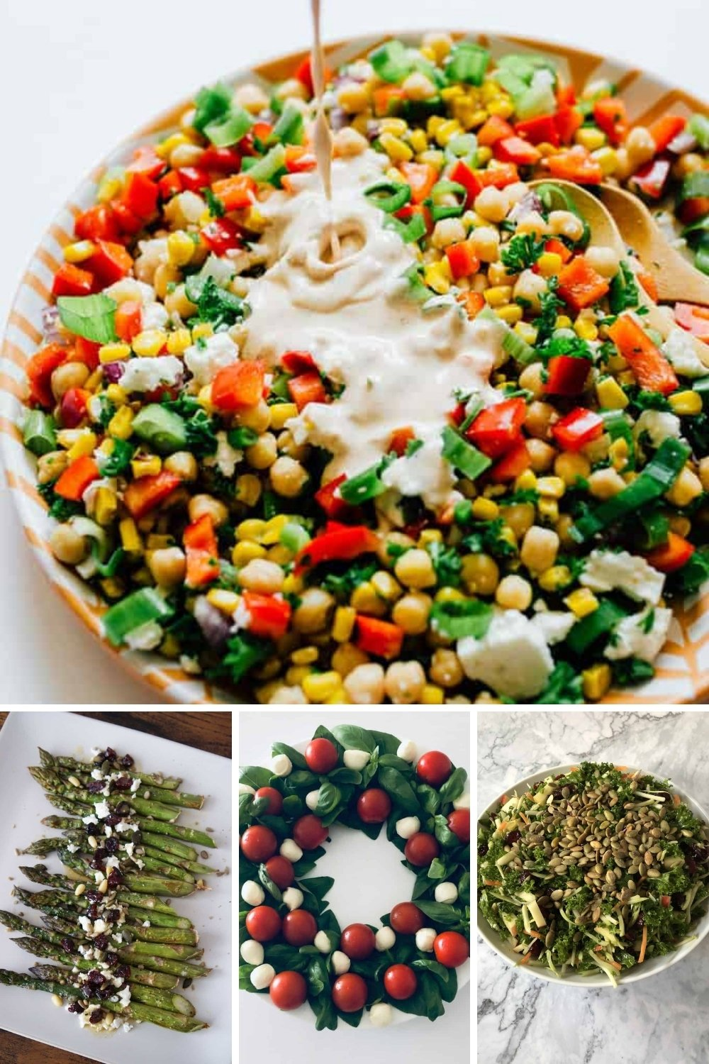 healthy side dishes salad