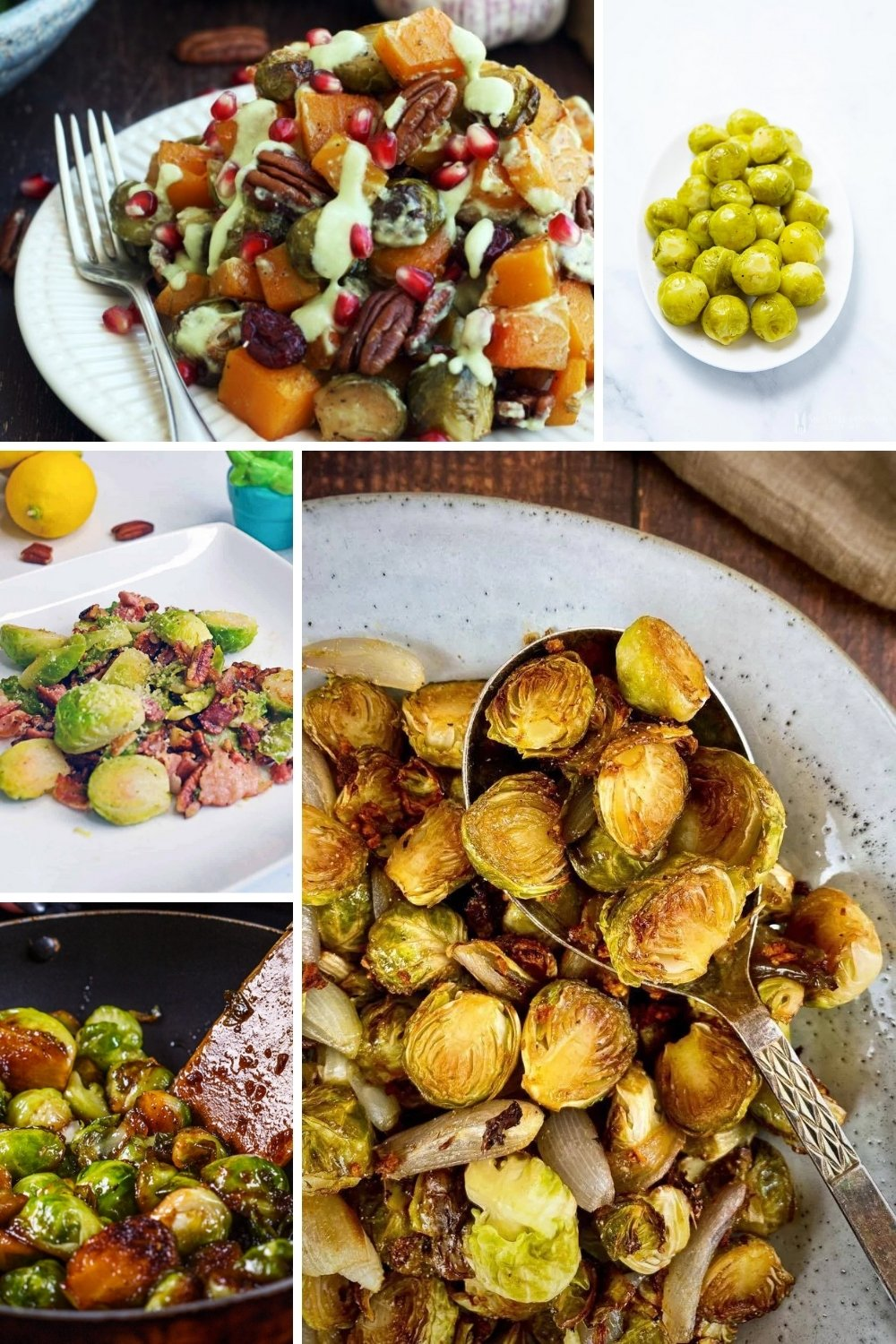healthy side dishes brussels sprouts