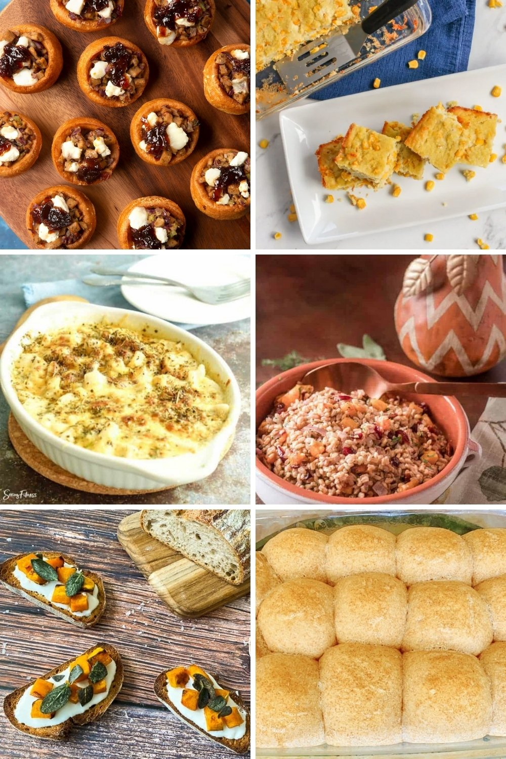 healthy breads for holidays side dishes