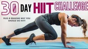 30 day hiit challenge