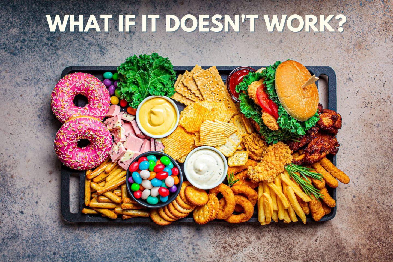 stop eating junk food