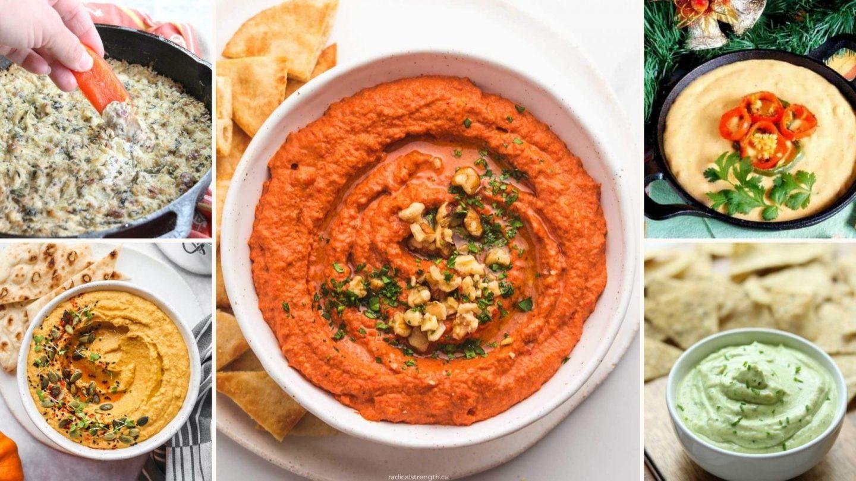 18 Healthy Dip Recipes