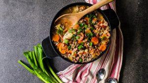 easy gyoza soup