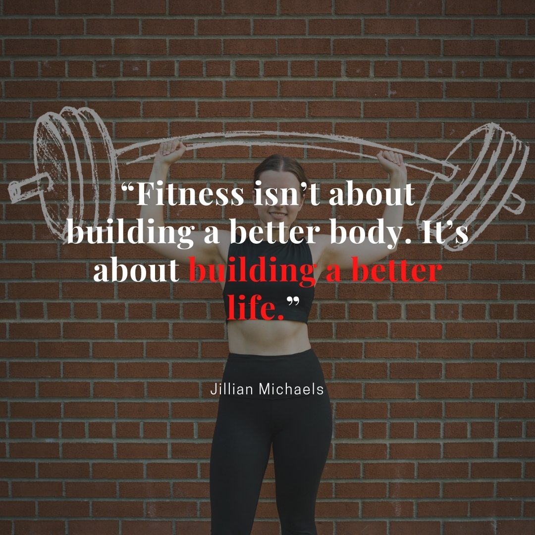 Jillian Michaels quotes about the gym