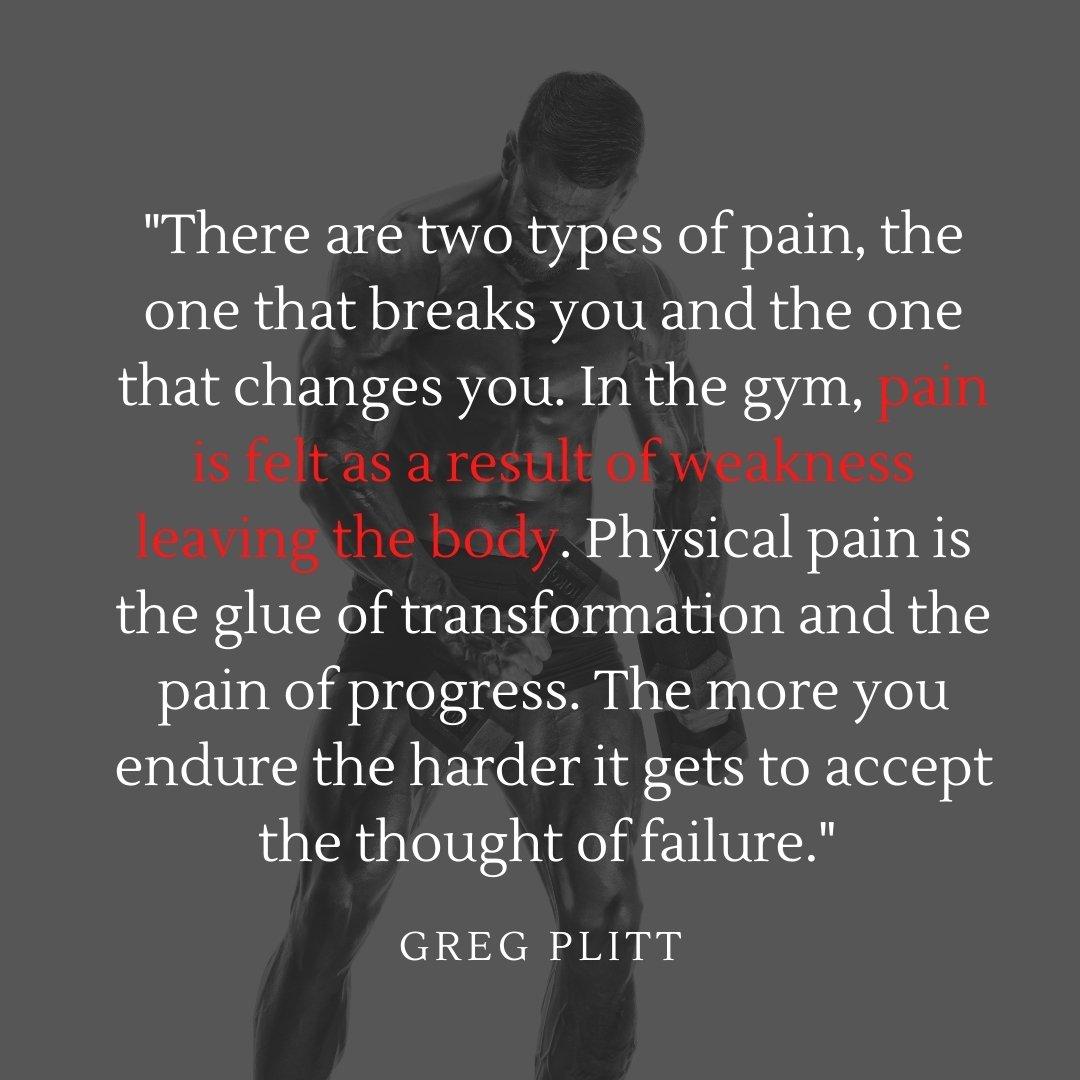 gym caption quote