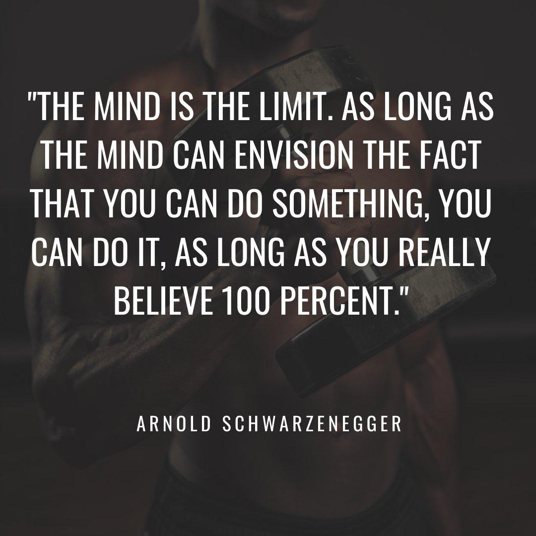 gym quote Arnold Schwarzenegger