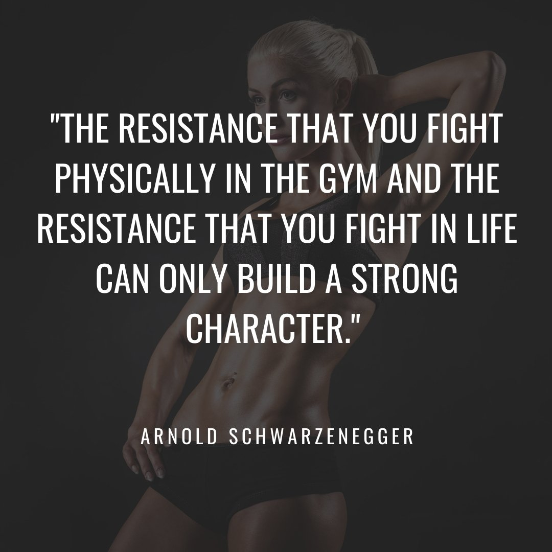 gym quotes arnold