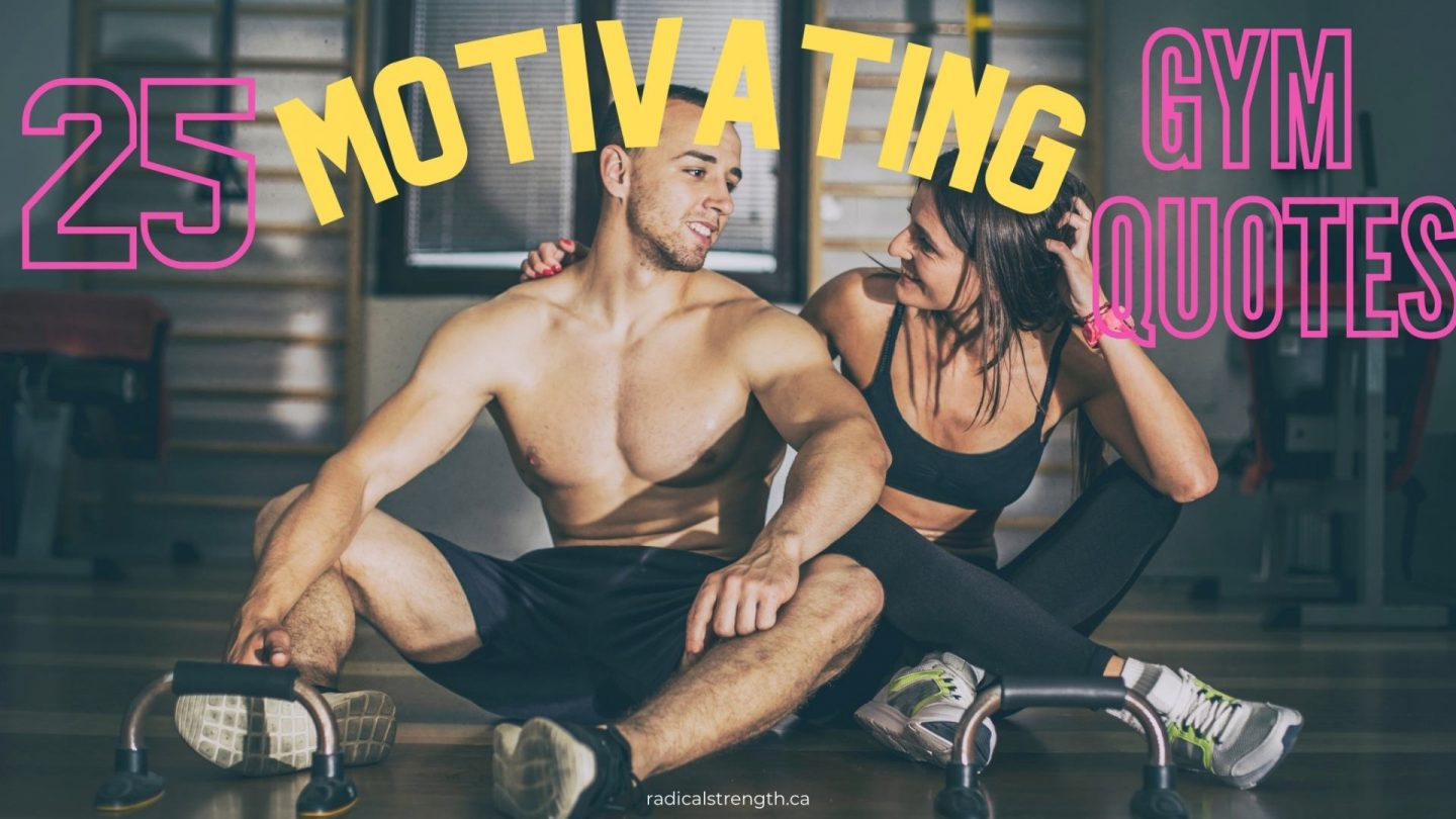 best quotes about the gym
