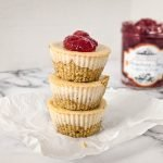 healthy cheesecake cups